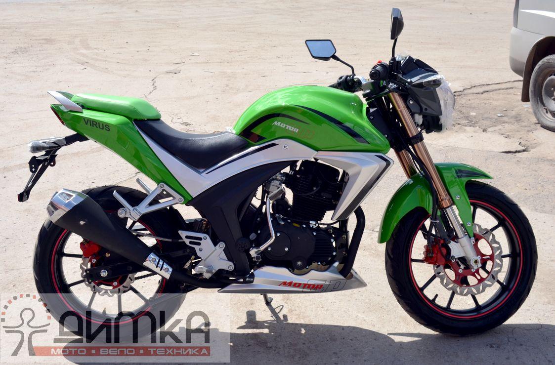 Мотоцикл virus 250